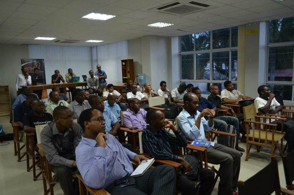 PIVOT East 2013 workshop at Kinu Hub in Tanzania